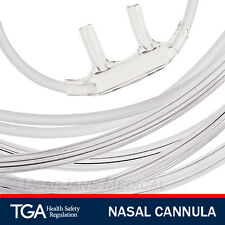 12 ADULT OXYGEN NASAL CANNULA WITH TUBING WITH NASAL PRONGS