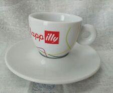 6 X Illy Demitasse Ombra Espresso Cuchara Agitador Set Diseñador De Colección De Arte Nuevo