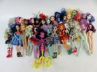 6+ Lb Bulk Lot of Loose, Assorted, Mattel Monster High Toy Fashion Dolls - LOT