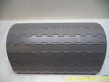 "Regina 10 ft Conveyor Belt 17 7/8"" Wide, 1/2"" Thick Modular Plastic"