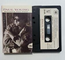 Musicassetta Paul Young Beetween Two Fires Mc Musik Cassette Tape No! CD Dvd