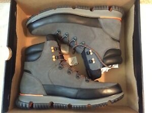 Cole Haan 4ZG Hiker Boots For Man (Gray) Size 9 .5