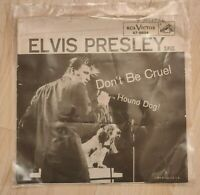 Elvis Presley Hound Dog Don't Be Cruel 1956 45 Record Vintage Oldie