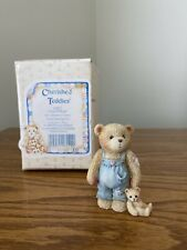 """Cherished Teddies """"Child of Hope"""" Young Son Figurine"""