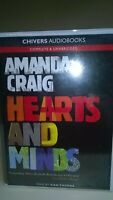Hearts and Minds by Amanda Craig: Unabridged Cassette Audiobook