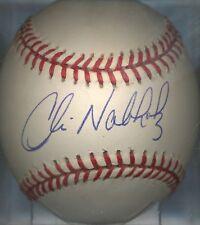 Chris Nabholz Chicago Cubs ONL Autographed Baseball COA