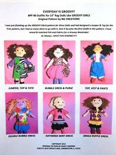NG Creations Pattern #4 Sew Six Outfits that fit Groovy Girls Dolls