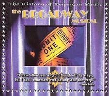 The Broadway Musical (With DVD) Various MUSIC CD