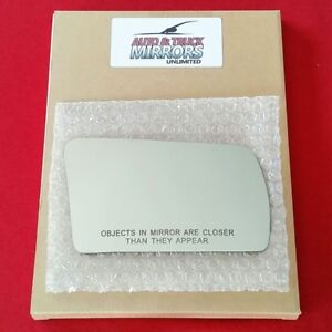 Mirror Glass For 81-98 Saab 900 Passenger Side Replacement