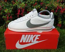 BNWB y Genuino Nike ® Classic Cortez Cuero se vela estuco entrenadores UK Size 11