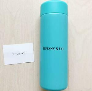 Tiffany & Co. Stainless Steel Mini Water Bottle Tumbler in Box New