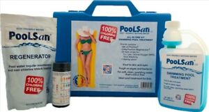 PoolSan large Non-Chlorine Chemical kit for Above-ground Pools up to 16ft