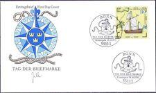 BRD 1998: Tag der Briefmarke! FDC der Nr. 2022 mit Bonner Sonderstempel! 1A 1806
