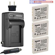 Kastar Battery Travel Charger for Kodak KLIC-7005 K7600C 1615350 EasyShare C763