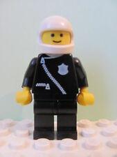 LEGO Minifig cop003 @ Police Zipper Badge Helmet 381 645 6384 6386 6522 6684