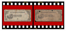 LOT 2 X PHILIPPINES JAPANESE GOVERNMENT P-106 ONE PESO 1942 SCARCE SERIES PA PC