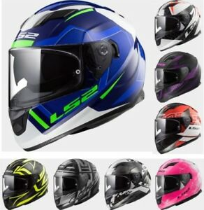 LS2 FF320 STREEM EVO MOTORCYCLE BIKE ROAD FULL FACE TOURING SCOOTER HELMET