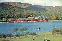 LAKE DISTRICT VINTAGE  POSTCARD LAKESIDE WINDERMERE