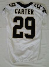 #29 Tony Carter Authentic Nike Game Issued Jersey from New Orleans Saints