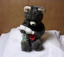 Wind Up Bear Pouring Milk Made in Japan 1960's Vintage T*