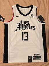 100% Auth 19-20 Paul George LA Clippers City Edition Nike Swingman Jersey L 48