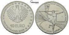 PRAGER: Deutschland,10 Euro 2009, Leichtathletik WM, IAAF, SILBER [1338]#j