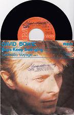 "7"" VINYL- SINGLE: DAVID BOWIE- Boys Keep Swinging"