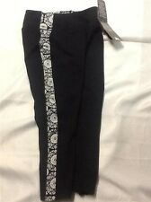 Kyodan Capri Slimming Supplex Tight FLORAL MEDALLION Yoga Pants Legging XS NWT