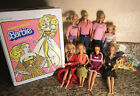 VTG 1980s Mattel Barbie Doll Lot with Super Star Case