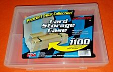 Jammers (qty 2) Plastic Card Storage Trading Card Case Box holds 1100+ Plano Mfg