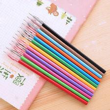 12 X Juego Color Caramelo Diamond Gel Bolígrafos Colegio Supplies Draw Colorida