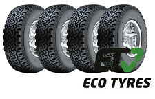 4X Tyres 225 65 R17 102T All Terrain Tyres SUV OWL White Lettering E C 73dB