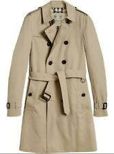 Brand New Burberry Chelsea Long Trench Coat, Size 50, Honey