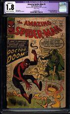 Amazing Spider-man 5 CGC 1.8 (R) OWW Silver Age Key Marvel Dr. Doom L@@K IGKC