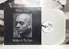 WELDON IRVINE - WELDON & THE KATS LP VG+/EX 1992 US REISSUE LUV N' HAIGHT