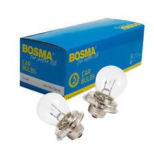 2x Lámpara Bombilla BOSMA P26S 12v 15w S3 Premium de la bola CERTIFICADO E