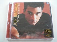 JON SECADA BETTER PART OF ME CD TARGET EXCLUSIVE! PLUS BONUS DISC! SEALED