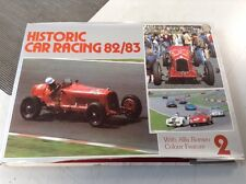 Historic Car Racing 82/83 With Alfa Romeo Colour Feature Haynes