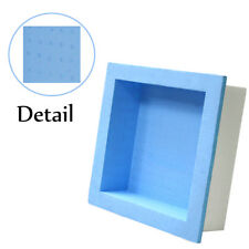 "Square Shower Niche Shampoo Soap Preformed Ready for Tile Waterproof 15.75"" x 4"""