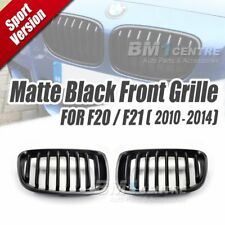 EURSPEC MATTE BLACK SPORT KIDNEY FRONT GRILLE FOR BMW 1 SERIES F20 F21 2010-2014