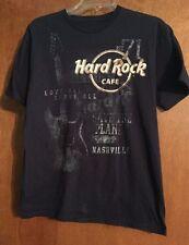 Hard Rock Cafe Love All Serve All - Save The Planet Nashville guitar T-Shirt M