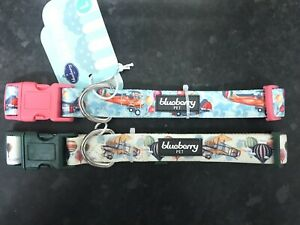 Blueberry Pet Dog Collar, Large, Pack Of 2