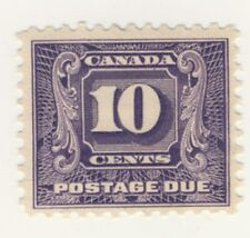 Canada Stamp Scott # J10 10-Cents Postage Due MH