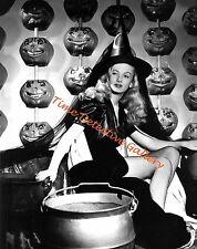 Veronica Lake in Halloween Witch Attire - 1942 - Vintage Photo Print