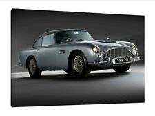 Aston Martin DB5 - 30x20 Inch Canvas Artwork - Framed Picture Poster Print