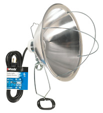 Woods Clamp Lamp with 10 Inch Reflector And Bulb Guard 300 Watt Bulb, 6 Foot