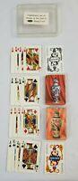 VINTAGE Whitman Publishing PLAYING CARDS Plastic Coated Chinese VASES 2 Decks