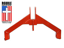 Tractor Attachment 3 Point Hitch Org Cat 2 Log Mega Skidder Grab Hook Made Usa