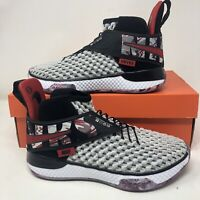 $160 Nike Air Zoom Unvrs  Basketball Shoes Gray Size 5.5 Youth Women's Size 7