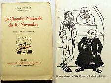 SENNEP/DAUDET/LA CHAMBRE NATIONALE DU 16 NOVEMBRE/ED LNL/1923/EO